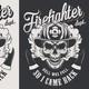 Vintage Firefighter Labels - GraphicRiver Item for Sale