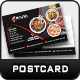 Restaurant Postcard Template - GraphicRiver Item for Sale