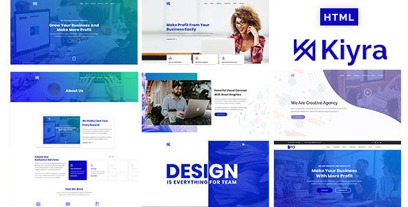 Kiyra - Creative Agency HTML5 Template