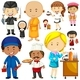 People Doing Different Occupations - GraphicRiver Item for Sale