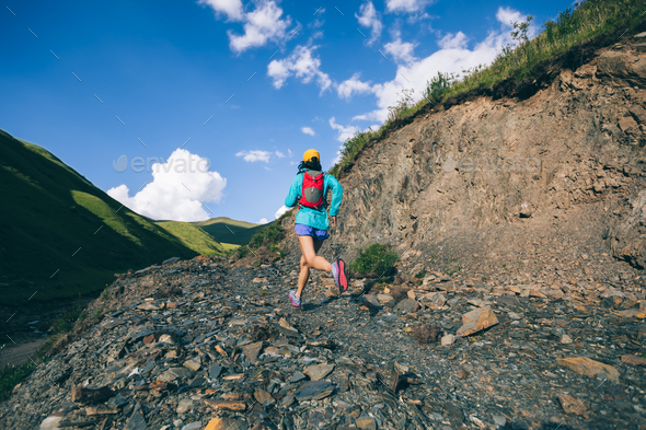 Cross country running - Stock Photo - Images