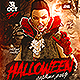 Halloween Vampire Costume Party Flyer - GraphicRiver Item for Sale