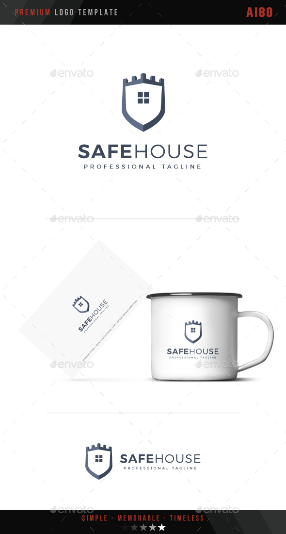 Safe House Logo - Symbols Logo Templates