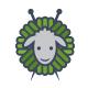 The Knit Sheep Logo