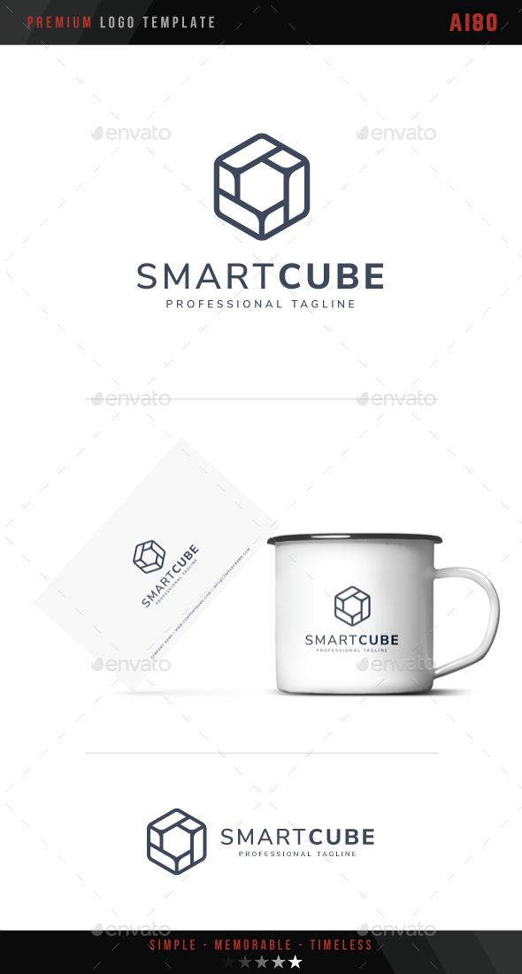 Smart Cube Logo - Abstract Logo Templates