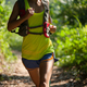 Trail running woman at sunny summer forest - PhotoDune Item for Sale