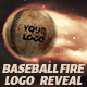Baseball Fire Logo Reveal - VideoHive Item for Sale