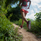 Trail running woman on mountains - PhotoDune Item for Sale