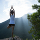 Yoga on mountain top - PhotoDune Item for Sale