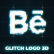 Glitch Logo 3D - VideoHive Item for Sale