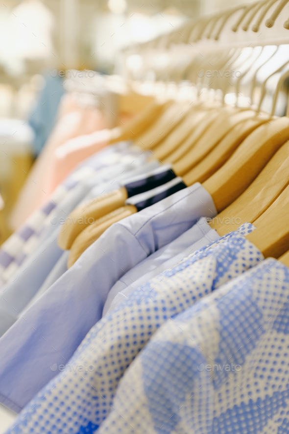 row of cloth - Stock Photo - Images