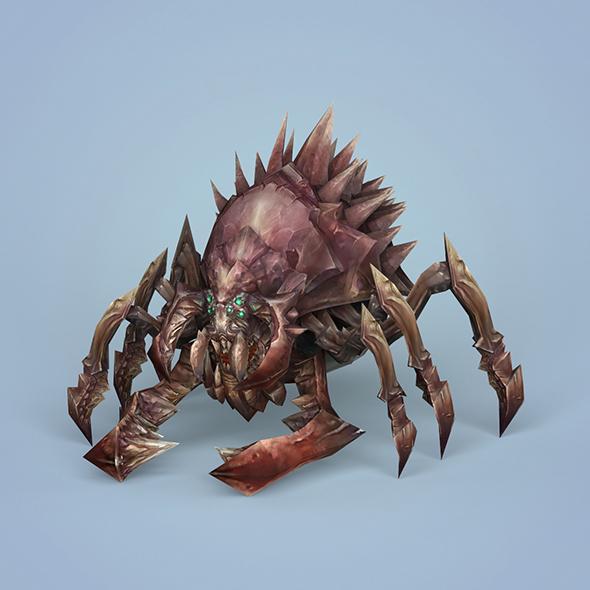 Fantasy Monster Spider - 3DOcean Item for Sale