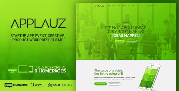 Applauz - Software, Technology, Startup & Digital Business - Technology WordPress