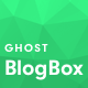 BlogBox - Minimal and Bold Ghost Theme - ThemeForest Item for Sale