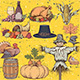 Thanksgiving Elements - GraphicRiver Item for Sale