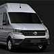 WV Crafter Van L3H3 2018 - 3DOcean Item for Sale