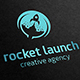 Rocket Launch Logo - GraphicRiver Item for Sale
