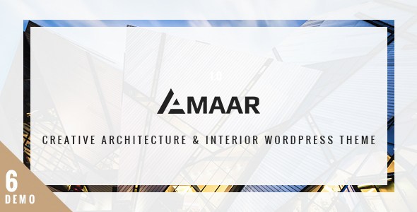 Amaar - Creative Architecture & Interior WordPress Theme