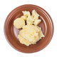 top view of boiled and mashed potatoes on plate - PhotoDune Item for Sale