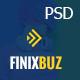 Finixbuz - Corporate & Financial PSD Template - ThemeForest Item for Sale