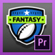 Fantasy Football Kit | Mogrt for Premiere Pro - VideoHive Item for Sale