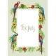 Tropical Frame with Parrots - GraphicRiver Item for Sale