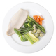 Steamed trout fillet with vegetables. - PhotoDune Item for Sale