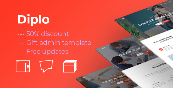 Diplo | Business Multi Page and One Page Template