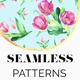 Tulips Seamless Patterns