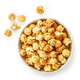 bowl of caramel popcorn - PhotoDune Item for Sale