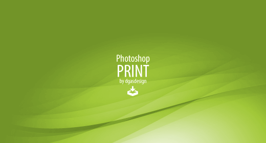 Photoshop Print Templates