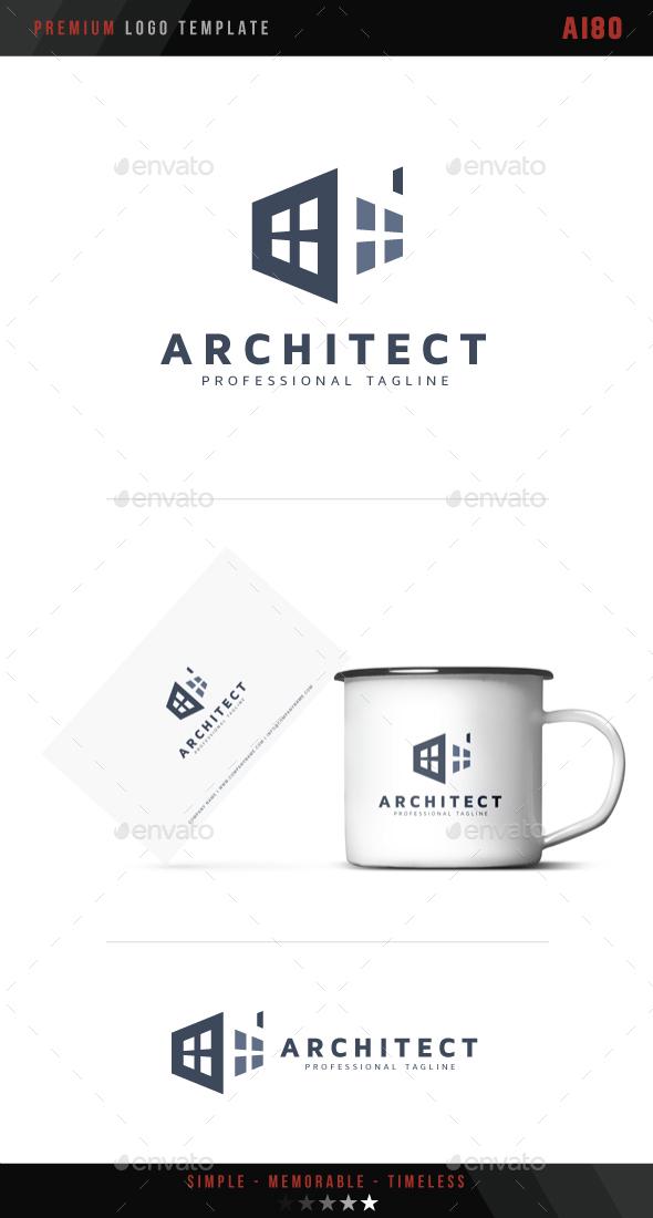 Architect Logo - Buildings Logo Templates