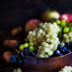 Fresh ripe white, green and purple grape - PhotoDune Item for Sale