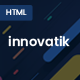 Innovatik - Corporate HTML responsive template - ThemeForest Item for Sale