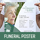 Funeral Service Poster Template - GraphicRiver Item for Sale