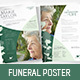 Funeral Service Flyer / Poster - GraphicRiver Item for Sale
