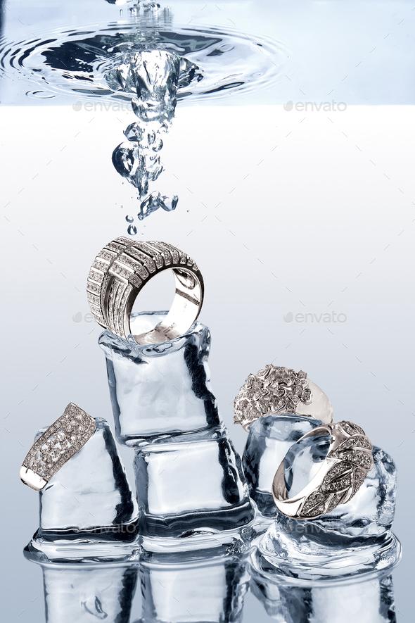 Underwater Jewelery - Stock Photo - Images