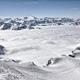 Ski resort in the Alps. Ski slopes, piste, powder snow in the mountains - PhotoDune Item for Sale