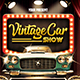 Vintage Car Show Flyer Template - GraphicRiver Item for Sale