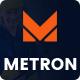 Free Download Metron- Factory Business WordPress Theme Nulled