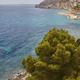 Spanish mediterranean coastline in Alicante, Valencia. Summertime in Spain. Vertical - PhotoDune Item for Sale