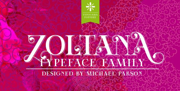 Zoltana - Serif Fonts