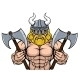 Viking Warrior Mascot - GraphicRiver Item for Sale