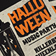 Halloween Music Flyer - GraphicRiver Item for Sale