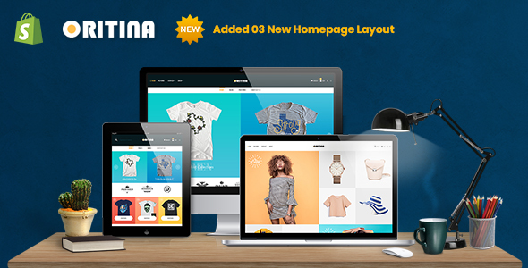 Oritina - Fashion, T Shirt & Accessories Shopify Theme - Fashion Shopify