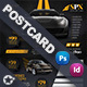 Rent A Car Postcard Templates - GraphicRiver Item for Sale