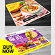Restaurant Menu - Food Menu Flyer Bundle - GraphicRiver Item for Sale