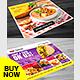 Restaurant Menu - Food Menu Flyer Bundle - GraphicRiver Item for Sale