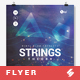 Strings Theory - Progressive Party Flyer / Poster Template A3 - GraphicRiver Item for Sale
