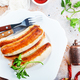 fried sausages - PhotoDune Item for Sale